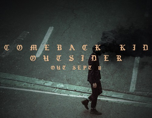 Comeback Kid pre-orders for 'Outsider' Available Now