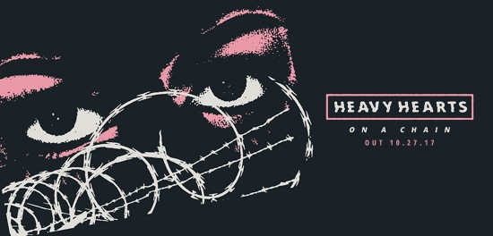 Heavy Hearts new EP 'On A Chain' Available for Pre-Order Now