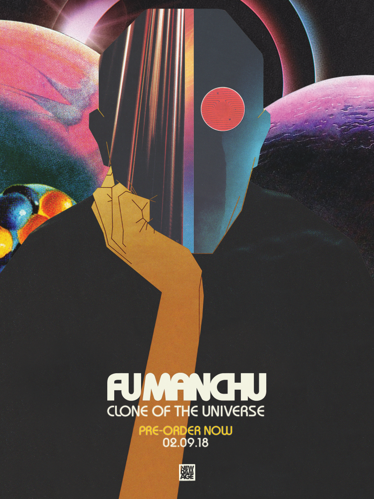 Fu Manchu - Clone of the Universe available for pre-order now!