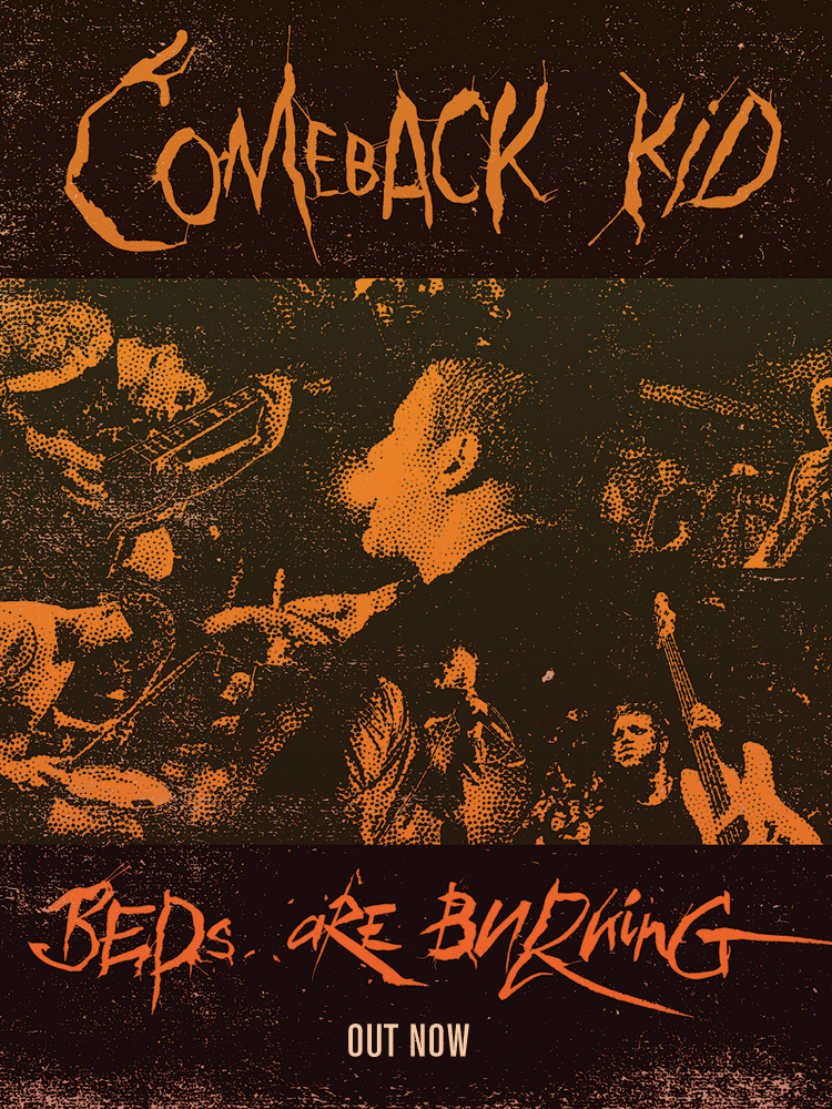 Comeback Kid 'Beds are Burning / Little Soldier' digital single out now!